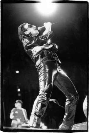 Bono of U2 at Giant's Stadium, New Jersey 8-12-92