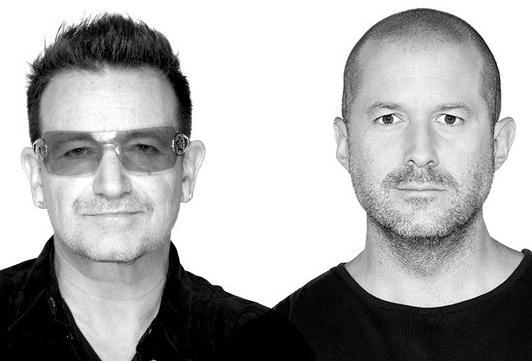 Bono & Jonathan Ive