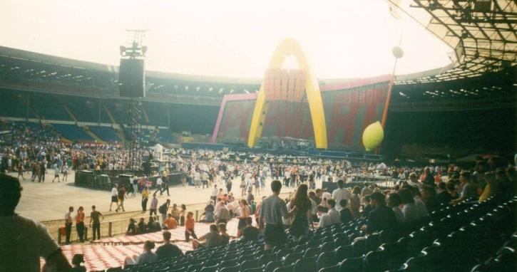 il PopMart a Wembley
