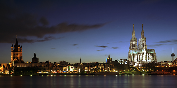 Skyline di Colonia