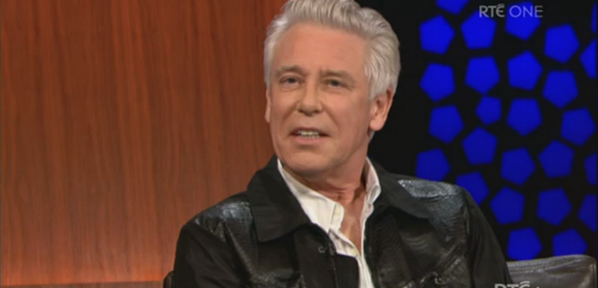 adam clayton late late show