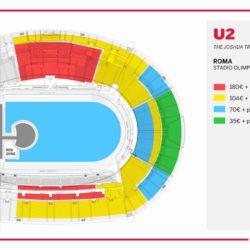 mappa posti stadio olimpico roma