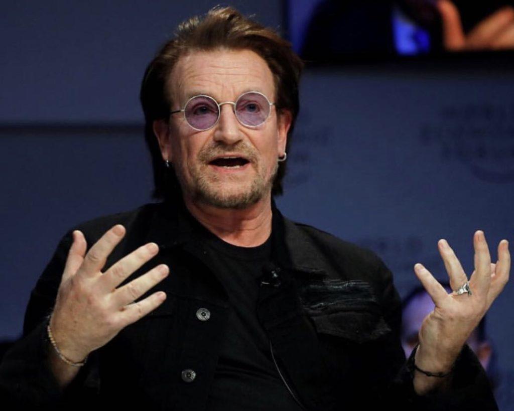 Bono a Davos